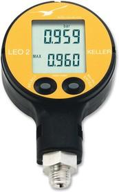 LEO2 / -1...30BAR / 81021, Датчик Давления, IP65, 0 до 50°C, 30 бар, Цифровой, Абсолютный, 3 В DC, UNF