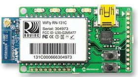 Фото 1/2 RN-131-EK, Оценочный комплект, WiFi, встроенное TCP/IP решение очень маленькой мощности, RN131
