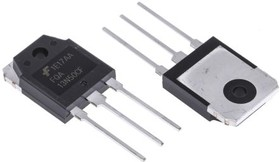 Фото 1/2 FQA13N50CF, Силовой МОП-транзистор, N Канал, 500 В, 15 А, 0.43 Ом, TO-3PN
