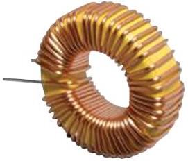 Фото 1/2 7447033, Тороидальный индуктор, с выводами, Серия WE-FI, 68 мкГн, 2 А, 0.055 Ом, ± 20%