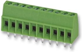 MPT 0,5/10-2,54, Клеммная колодка типа провод к плате, 2.54 мм, 10 вывод(-ов), 26 AWG, 20 AWG, 0.5 мм², Винт