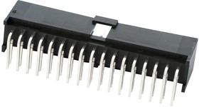 Фото 1/2 90130-3224, Разъем типа провод-плата, 2.54 мм, 24 контакт(-ов), Штыревой Разъем, C-Grid III 90130 Series