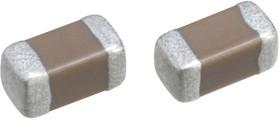 C1608C0G1H121J080AA, Многослойный керамический конденсатор, 0603 [1608 Метрический], 120 пФ, 50 В, ± 5%, C0G / NP0