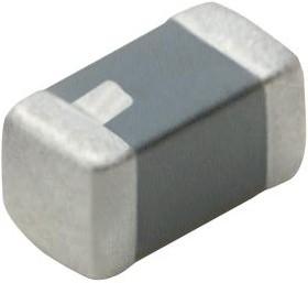 LQM18JNR10J00D, Силовой Индуктор (SMD), 100 нГн, 650 мА, Многослойный, LQM18JN_00 Series, 1.6мм x 0.8мм x 0.55мм