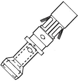 RC20M12D28, Contact SKT 16 Size Crimp ST Cable Mount 20-22AWG Bulk