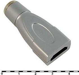 корпус для разъёма HDMI; № 10423 кожух HDMI\\\мет\ HDMI7009[FY1020]