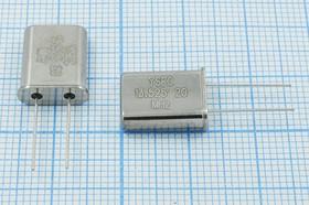 Фото 1/4 кварцевый резонатор 13.525МГц в корпусе HC49U, нагрузка 20пФ, 13525 \HC49U\20\ 15\ 20/-20~70C\49U\1Г