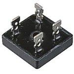 Фото 2/2 GBPC1202-E4/51, Мостовой выпрямитель, 1 Фаза, 200 В, 12 А, Модуль, 1.1 В, 4 вывод(-ов)