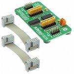 Фото 5/5 MIKROE-258, 3.3V-5V Voltage Translator Board, Плата 8-разрядного преобразователя логических уровней 3.3 - 5 В