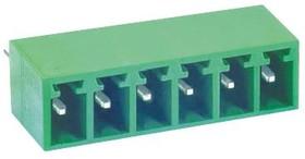 MC000084, Клеммная Колодка, Штыревой Разъем, 3.5 мм, 6 вывод(-ов), 12 А, 150 В