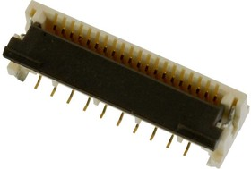 501951-2010, FFC / FPC разъем, 0.5 мм, 20 контакт(-ов), Гнездо, Easy-On 501951 Series, Поверхностный Монтаж