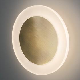 Фото 1/3 40140/1 LED / настенный светильник / бронза