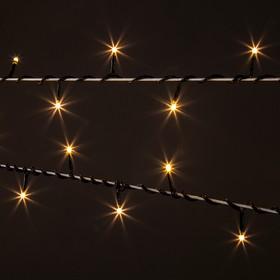Фото 1/4 400-001 / гирлянда бытовая электрическая нить / теплый белый