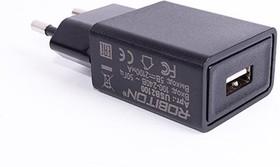 Фото 1/3 USB2100 BL1, Блок питания с USB разъёмом, 5В,2.1А,10.5Вт (адаптер)