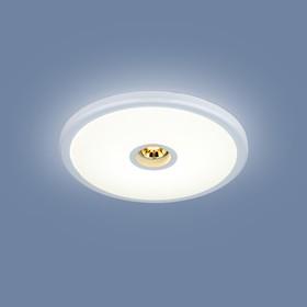 Фото 1/4 9912 LED / Светильник встраиваемый 6+4W WH белый