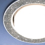 Фото 3/3 1072 GX53 / Светильник встраиваемый SL/СН серебряный блеск/хром