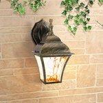 Фото 4/4 GL 1009D / Светильник садово-парковый Apus D черное золото (GL 1009D)