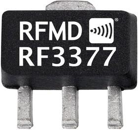 RF3377, AMP, RF, GAIN BCK, DC-6GHZ, SOT89