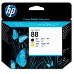 Картридж + печатающая головка HP C9381A черный / желтый