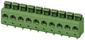 1792931, Клеммная колодка типа провод к плате, 5 мм, 9 вывод(-ов), 26 AWG, 14 AWG, 2.5 мм², Вставной