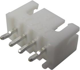 B4B-XH-AM, Разъем типа провод-плата, ввод сверху, 2.5 мм, 4 контакт(-ов), Штыревой Разъем, Серия XH