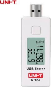 UT658, Тестер USB (ток, емкость, напряжение) | купить в розницу и оптом