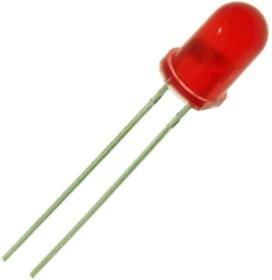 GNL-3012ED, Светодиод оранжевый 60° d=3мм 8мКд 635нМ (Orange)