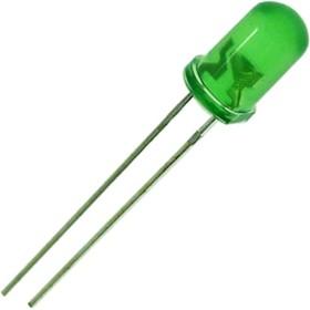 GNL-3014GT, Светодиод зеленый 20° d=3мм 30мКд 565нМ (Green)