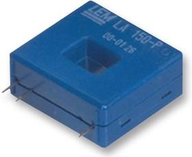 LA 100-P, Преобразователь тока, серия LA, 10A, -150А до 150A, 0.7%, выход с закрытым контуром, 12В до 15В DC