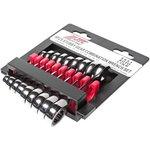 Набор ключей комбинированных трещоточных 8-17мм коротких 9 предметов JTC-5051