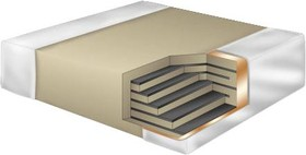 C0805X100J5GACAUTO, Многослойный керамический конденсатор, 0805 [2012 Метрический], 10 пФ, 50 В, ± 5%, C0G / NP0