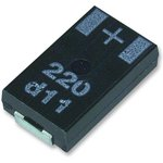 10SXB22M, Polymer Aluminium Electrolytic Capacitor, 22 мкФ ...