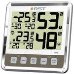 02413 RST Цифровой термогигрометр с большим дисплеем ...