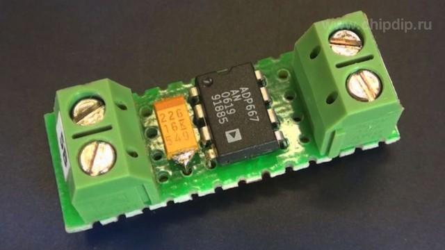 Микросхема ADP667 является линейным регулятором напряжения...  ADP667AN, LDO регулятор напряжения Ind DIP8.