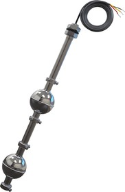 ПДУ-3.2, Датчик уровня поплавковый двухуровневый Вертикальный ,L=3000 мм