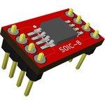 Адаптер SOIC 8 (SSOP 8) / DIP 8, Универсальный переходник из SOIC 8 и SSOP 8 к DIP 8