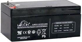 DJW12-3.2, Аккумулятор свинцовый 12В-3.2Ач 134x67x60