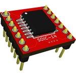 Адаптер SOIC 14 (SSOP 14) / DIP 14, Универсальный переходник ...
