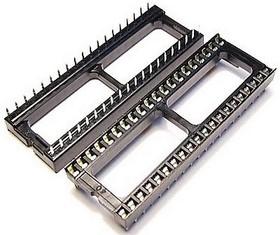 Фото 1/2 SCL-40 (DS1009-40AW), DIP панель 40 контактов широкая
