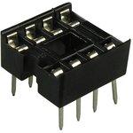 SCS- 8 (DS1009-8AN), DIP панель 8 контактов узкая