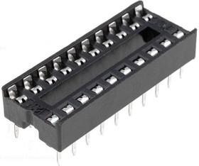 SCS-20 (DS1009-20AN), DIP панель 20 контактов узкая
