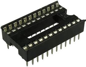 ICSS-24 (DS1010-24W), DIP панель 24-контактная шаг 1.778мм широкая