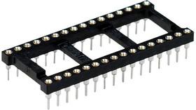Фото 1/2 TRL-32 (DS1001-01-32W), DIP панель 32-контактная цанговая широкая