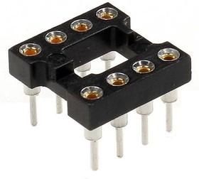 Фото 1/2 TRS- 8 (SCSM-8) (DS1001-01-8N), DIP панель 8-контактная цанговая узкая
