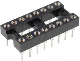 TRS-16 (SCSM-16) (DS1001-01-16N), DIP панель 16-контактная цанговая узкая
