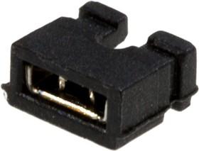 MJ2-O-3.5, Джампер 2х3.5мм 2-контактный открытый
