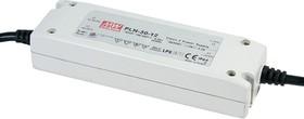 PLN-30-12, AC/DC LED, 12В,2.5А,30Вт,IP64 блок питания для светодиодного освещения