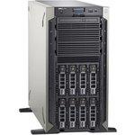 Сервер Dell PowerEdge T340 1xE-2276G 1x16GbUD x8 1x1.2Tb 10K 2.5in3.5 SAS RW ...