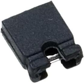 MJ-O-8 (DS1027-2AB21-N-067), Джампер 2.54х8мм 2-контактный открытый