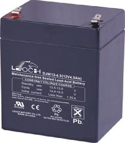 DJW12-4.5(F2), Аккумулятор свинцовый 12В-4.5Ач 90x70x107